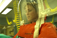 Jennifer Ehle as Dr. Ally Hextall in ``Contagion.''