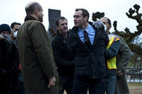 Jude Law as Alan Krumwiede in ``Contagion.''