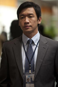 Chin Han as Sun Feng in ``Contagion.''