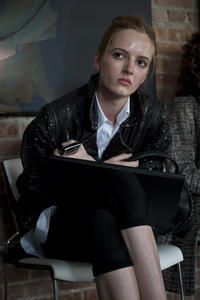 Daria Strokous as Irina in``Contagion.''
