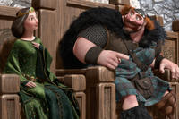 Queen Elinor and King Fergus in ``Brave.''