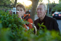 Thomas Horn as Oskar Schell and Max von Sydow as Thomas Schell Sr. in ``Extremely Loud & Incredibly Close.''