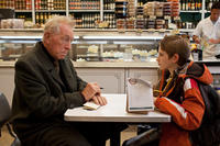 Max Von Sydow as Thomas Schell Sr. and Thomas Horn as Oskar Schell and in ``Extremely Loud & Incredibly Close.''