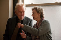 Max Von Sydow as Thomas Schell Sr. and Zoe Caldwell as Oskar's Grandmother in ``Extremely Loud & Incredibly Close.''
