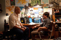 Dwayne Johnson as Hank and Josh Hutcherson as Sean in ``Journey 2: The Mysterious Island.''