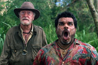 Michael Caine as Alexander and Luis Guzman as Gabato in ``Journey 2: The Mysterious Island.''