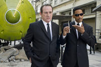 Tommy Lee Jones as Agent K and Will Smith as Agent J in ``Men in Black 3.''