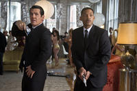 Josh Brolin as Agent K and Will Smith as Agent J in ``Men in Black 3.''
