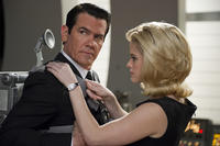 Josh Brolin as Agent K and Alice Eve as Agent O in ``Men in Black 3.''