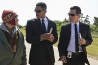Michael Stuhlbarg as Griffin, Will Smith as Agent J and Josh Brolin as Agent K in ``Men in Black 3.''