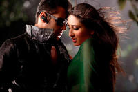 Salman Khan as Lovely Singh and Kareena Kapoor as Divya Rana in ``Bodyguard.''