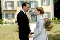 Michael Fassbender as Carl Jung and Sarah Gadon as Emma Jung in ``A Dangerous Method.''