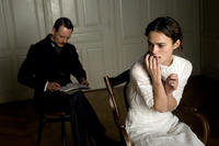 Michael Fassbender as Carl Jung and Keira Knightley as Sabina Spielrein in ``A Dangerous Method.''