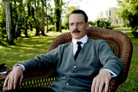 Michael Fassbender as Carl Jung in ``A Dangerous Method.''