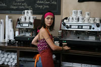 Camilla Belle as Claire Axle in ``Father of Invention.''