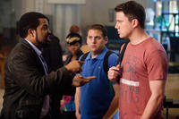 Ice Cube as Capt. Dickson, Jonah Hill as Schmidt and Channing Tatum as Jenko in ``21 Jump Street.''