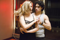 Leah Pipes as Mia and E.J. Bonilla as Armando in ``Musical Chairs.''