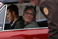 Steve Talley as Matt Harper and Eric Roberts as Ronnie Bullock in ``Deadline.''