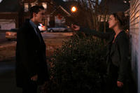 Steve Talley as Matt Harper and Anna Felix as Delana Calhoun in ``Deadline.''