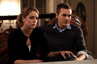Anna Felix as Delana Calhoun and Steve Talley as Matt Harper in ``Deadline.''