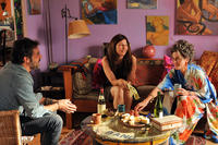 Jeffrey Dean Morgan as Jude, Catherine Keener as Diane and Jane Fonda as Grace in ``Peace, Love & Misunderstanding.''