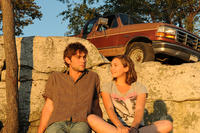 Chace Crawford as Cole and Elizabeth Olsen as Zoe in ``Peace, Love & Misunderstanding.''