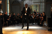 Omar Sy as Driss in ``The Intouchables.''