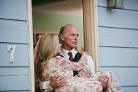 Jennifer Connelly as Virginia and Ed Harris as Sheriff Dick Tipton in ``Virginia.''