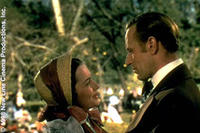 Olivia de Havilland as Melanie Hamilton and Leslie Howard as Ashley Wilkes in ``Gone with the Wind.''