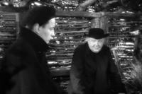 Claude Laydu as Priest of Ambricourt and Andre Guibert in ``Diary of a Country Priest.''