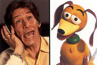 Jim Varney as the voice of Slinky Dog in Disney's Toy Story 2