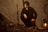 Johnny Depp as Ichabod Crane in ``Sleepy Hollow.''