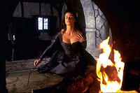 Lisa Marie as Lady Crane in ``Sleepy Hollow.''