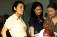 Joan Chen as Trinh Hguyen, Kristy Wu as Jenny Nguyen (daughter) and Kieu Chinh as Grandma Nguyen in