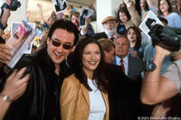 John Cusack and Catherine Zeta-Jones star in the Revolution Studios/Columbia Pictures romantic comedy AMERICA'S SWEETHEARTS.