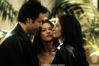 John Cusack, Catherine Zeta-Jones and Julia Roberts star in the Revolution Studios/Columbia Pictures romantic comedy AMERICA'S SWEETHEARTS.