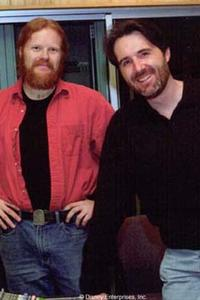 Directors Gary Trousdale (left) and Kirk Wise (right).