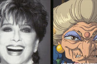 Suzanne Pleshete, voice of Yubaba and Zeniba.
