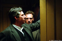 Gabriel Byrne and Ralph Fiennes in David Cronenberg's