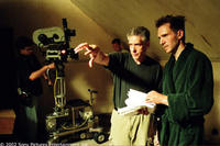 David Cronenberg, the Director and Ralph Fiennes as
