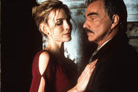 Saffron Burrows and Burt Reynolds in