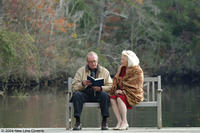 James Garner and Gena Rowlands star in New Line Cinema's drama, THE NOTEBOOK.