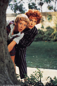 A scene from the film THE PARENT TRAP.
