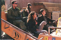 From left, Jayne (Adam Baldwin), River (Summer Glau), Zoe (Gina Torres) and Mal (Nathan Fillion) are members of a small band of galactic outcasts in