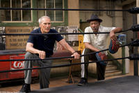 CLINT EASTWOOD as Frankie and MORGAN FREEMAN as Scrap in Warner Bros. Pictures' drama