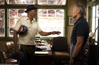 MORGAN FREEMAN as Scrap and CLINT EASTWOOD as Frankie in Warner Bros. Pictures' drama
