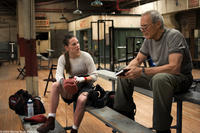 HILARY SWANK as Maggie and CLINT EASTWOOD as Frankie in Warner Bros. Pictures' drama