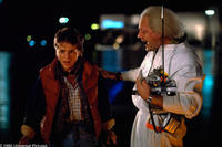 Michael J. Fox and Christopher Lloyd in
