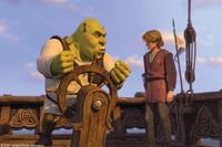 Shrek (Mike Myers) and Artie (Justin Timberlake) in