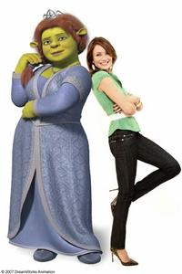 Cameron Diaz voices Princess Fiona in